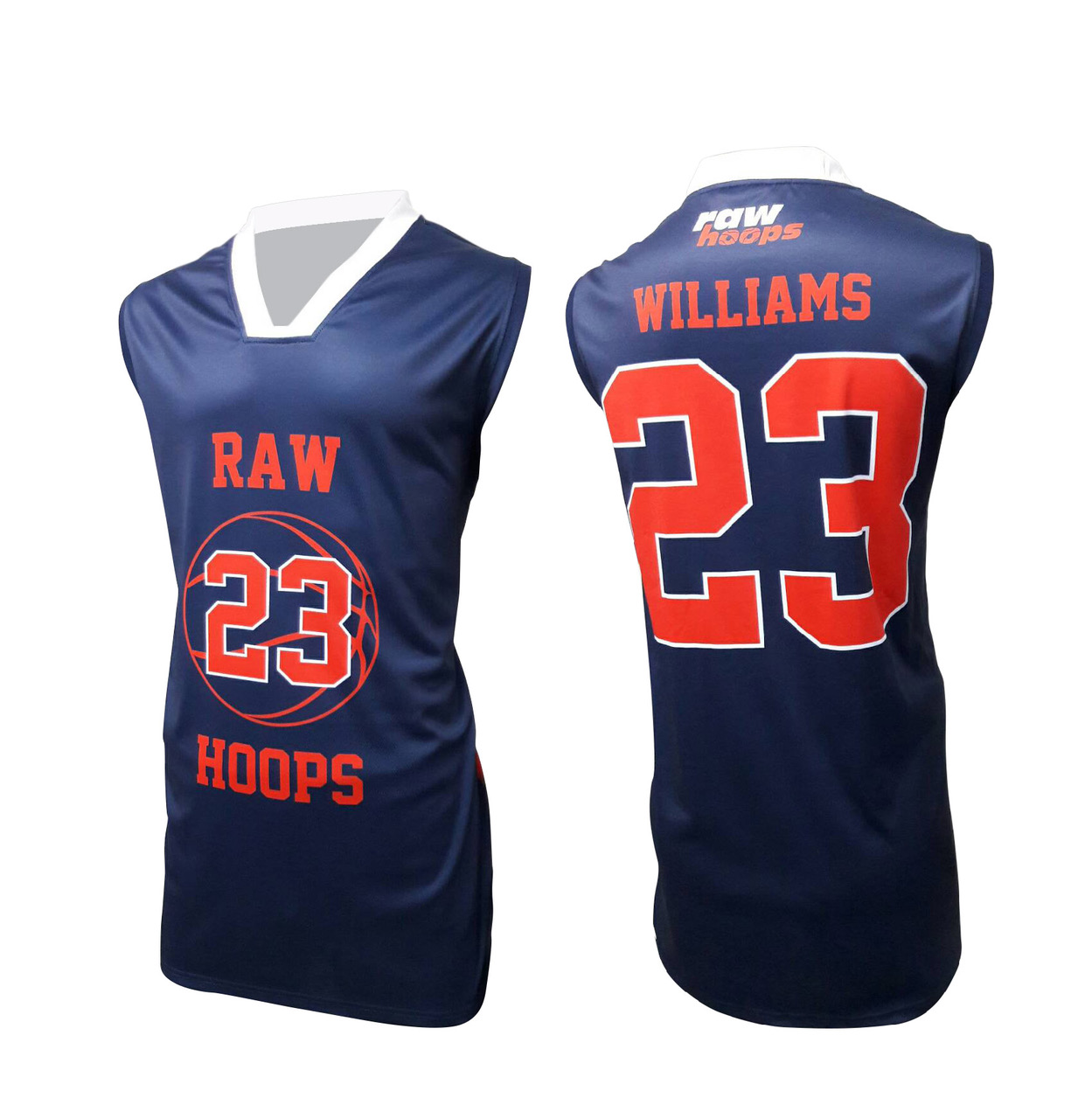 RAW HOOPS BASKETBALL JERSEY PROFILE TEAMWEAR TESTIMONIAL